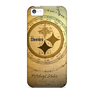 Durable Cell-phone Hard Cover For Iphone 5c (iNI5633YLND) Customized Realistic Pittsburgh Steelers Pictures hjbrhga1544