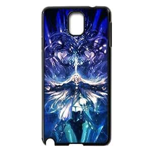 Samsung Galaxy Case Nota 3 Covers Negro Final Fantasy personalizada protectora Teléfono Caso M3K5FI