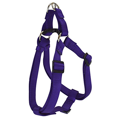Hamilton Adjustable Easy-On Step-in Style Dog Harness, 3/8-Inch by 10-16-Inch, Extra Small, Purple