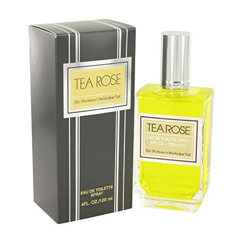 - FragranceX Perfumers Workshop Tea Rose 4 oz Eau De Toilette Spray For Women