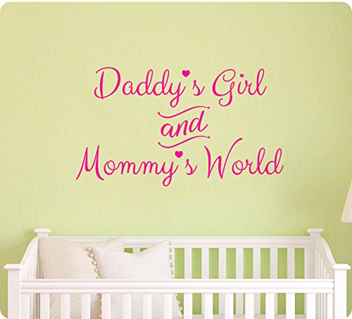 Daddys Mommys World Sticker Nursery product image