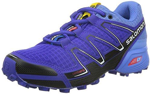 SalomonSpeedcross Vario - Zapatillas de Running para Asfalto Mujer Morado - Violett (Spectrum Blue/Petunia Blue/Black)