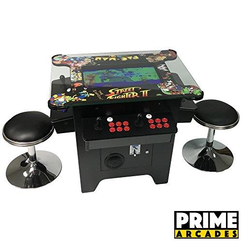 Prime Arcades, LLC Cocktail Arcade Machine 1162 Games in 1 with 80