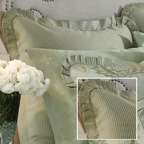 Croscill White Label Jade European Sham Croscill White Sham