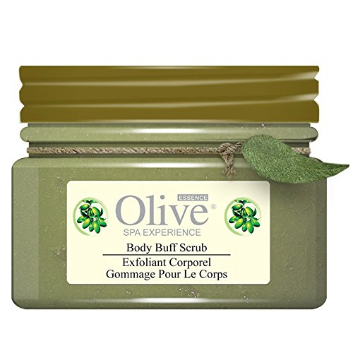 perience Body Buff Scrub Exfoliant Corporel 4 Fl Oz. (Olive Essence Spa)