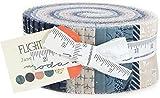 Janet Clare Flight Jelly Roll 40 2.5-inch Strips