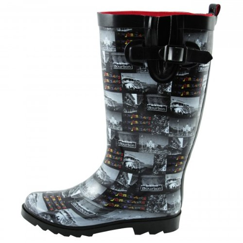 Capelli New York Gummistiefel 'Jazzy New Orleans', Groesse:41, farbe:black combo