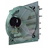 """TPI Corporation CE10-DS Direct Drive Exhaust Fan, Shutter Mounted, Single Phase, 10"""" Diameter, 120 Volt by TPI"""