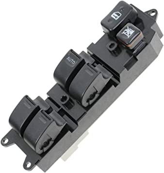 Amazon Com Power Window Switch Front Driver Side Left For Toyota 4runner Camry Corolla Rav4 Automotive