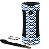 Fintie Carrying Case for Amazon Tap - Premium Vegan Leather Protective Sling Cover with Removable Holding Strap + Carabiner Keychain for Amazon Tap Alexa Portable Bluetooth Speaker, Ocean Mist