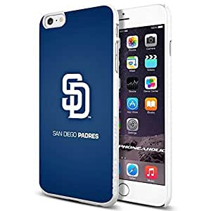 MLB San Diego Padres Baseball,Cool Case Cover For HTC One M8 Smartphone Collector iphone PC Hard Case White
