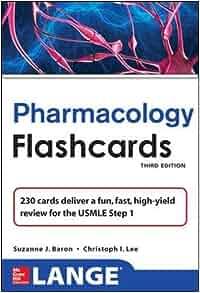 Lange Pharmacology Flash Cards, Third Edition (LANGE