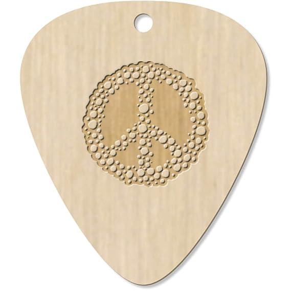 Azeeda 7 x Simbolo de Paz Guitarra Púa (GP00004706): Amazon.es: Juguetes y juegos