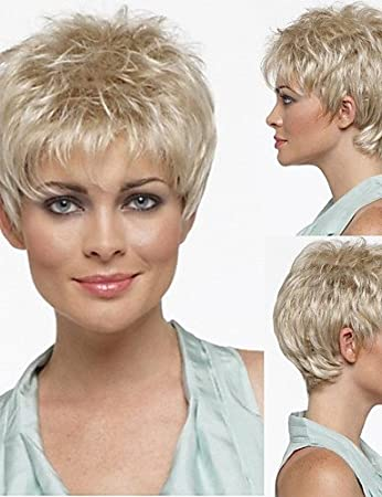 Einfache Und Bequeme Art Und Weise Perucken Europaisches Haar Pixie