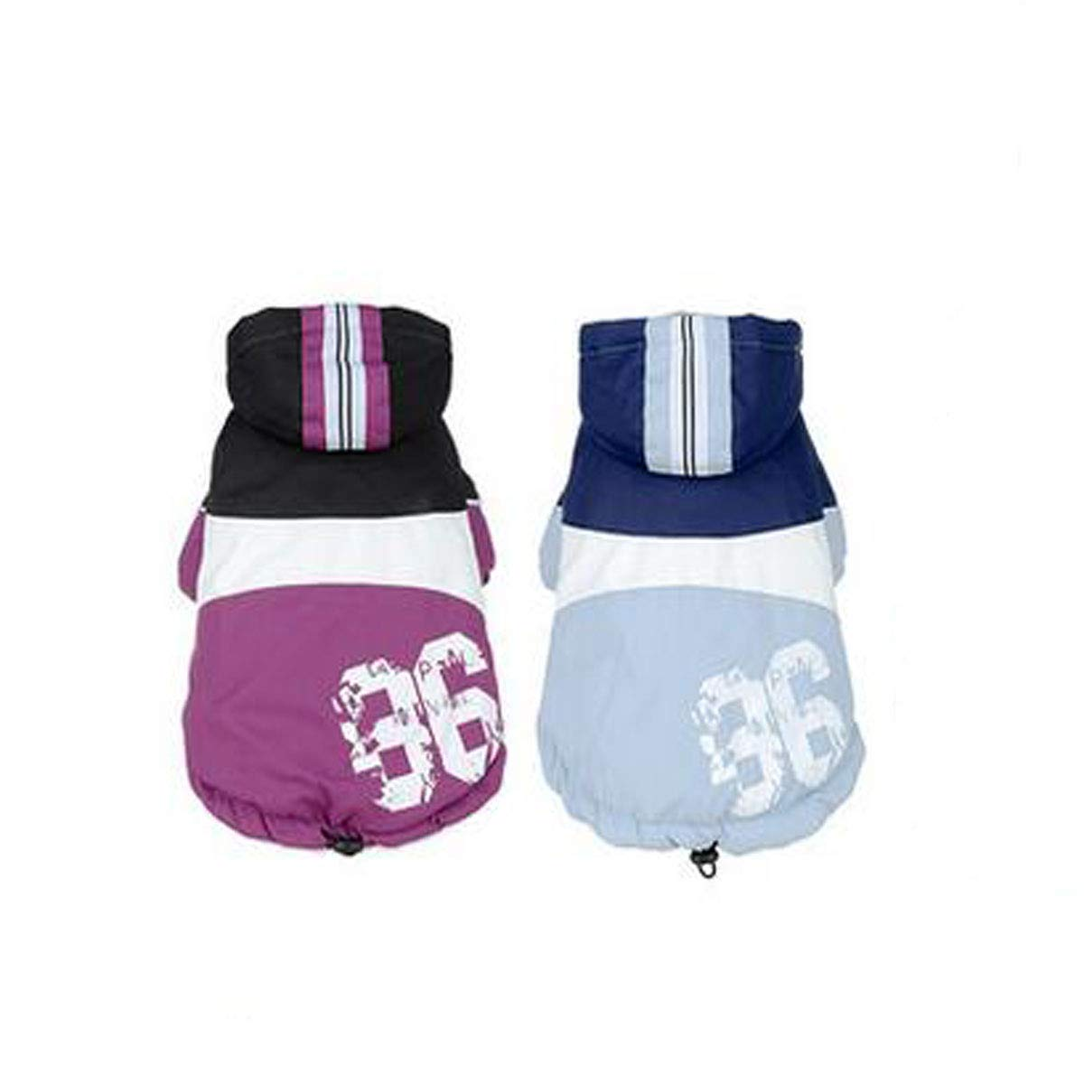 Purple 3XL Purple 3XL Pet Autumn and Winter Clothes, Suitable for Shepherd Dogs, golden Retrievers, Large and Medium Dog Clothing (color   Purple, Size   3XL)
