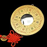 better us Chinese Feng Shui Concave Bagua Mirror (5'')