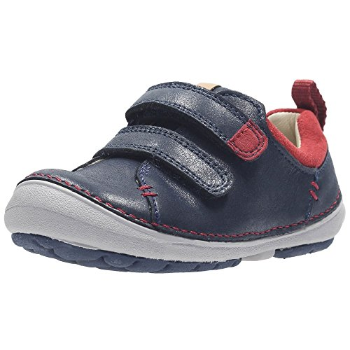 63ccbe968ee4 Clarks Softly Toby Fst Boys First Shoes 45 Navy - liv-stuck-sachsen.de