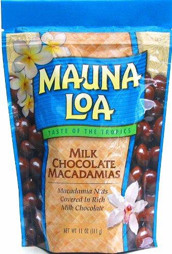 Mauna Loa Milk Chocolate Macadamias, 11-Ounce Bag (Pack of 12)