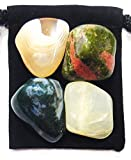 Agate, Moss Agate, Moonstone, & Unakite are a special combination of stones known to provide significant aid & support during the PREGNANCY & BIRTHING processes. Together, this set encourages a healthy pregnancy & ensures a successful...