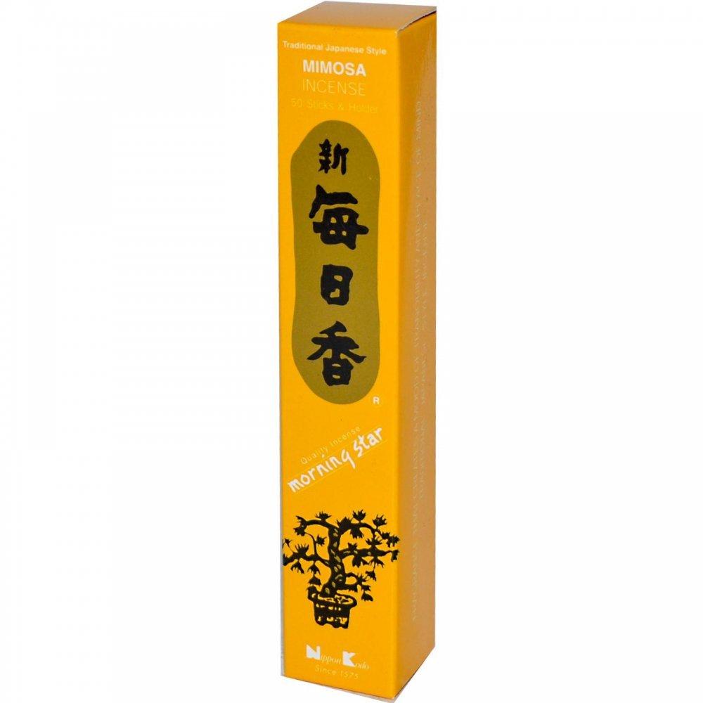 Morning StarミモザIncense Sticks 50 B000XQJ56G