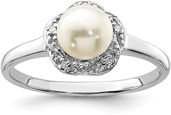 USA Seller Freshwater Pearl Ring Sterling Silver 925 Best Price Jewelry Gift