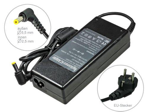 90W Notebook Netzteil AC Adapter Ladegerät für Medion Akoya E7222 E7223 E7223T T E7227 E7227T P6638 P6640 P6643, mit Euro Stromkabel