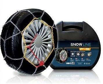 Ltd V5117 - Cadenas de nieve de rombo (9 mm, grupo 95 homologadas O-Norm): Amazon.es: Coche y moto