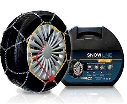 CATENE DA NEVE A ROMBO 9mm GRUPPO 120 Omologate O-Norm V5117 Hangzhou Huafeng Chain Co. Ltd.