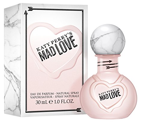 Katy Perry Mad Love, Eau de Parfum, 1 fl. oz., Women's Fragrance by Katy Perry with Floral, Fruity & Feminine Scents Mixed with Warm & Sexy Musk & Wood. An Appealing & Attractive Gift.
