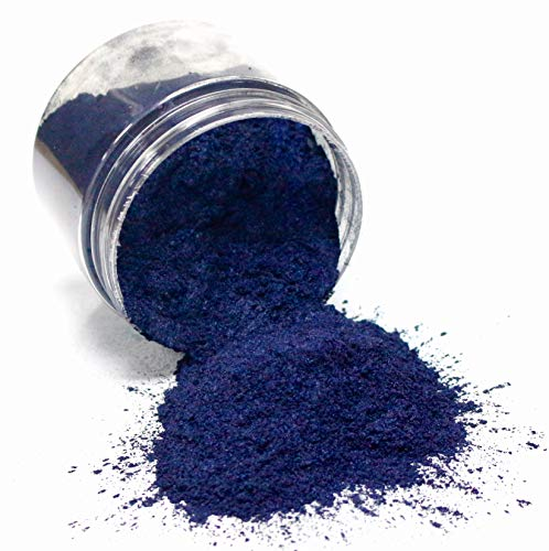 42g/1.5oz'Midnight Blue' Mica Powder Pigment (Epoxy,Resin,Soap,Plastidip) Black Diamond Pigments