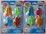 What Kids Want Stretchy Sticky Bugs 4 Count - Pack of 2
