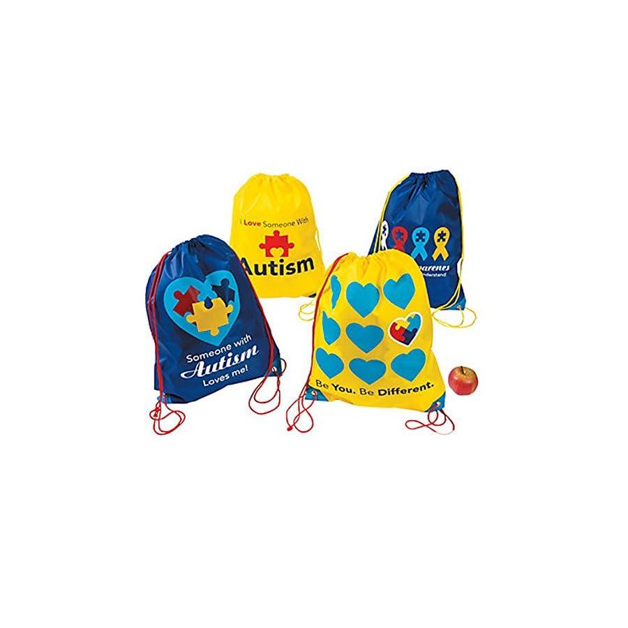 Autism Awareness Rope Bag Backpack 1 Per Order