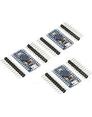 KeeYees PRO Micro ATmega32U4 Modulo di Sviluppo per Arduino IDE Leonardo Bootloader, 5V, 16MHz Micro USB (3 Pezzi)