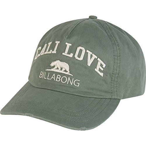 Billabong Canvas Hat - Billabong Women's Surf Club Hat, Treetop, ONE