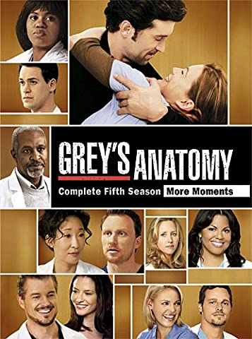Grey's Anatomy: Season 5 (Greys Anatomy Dvd Seasons)