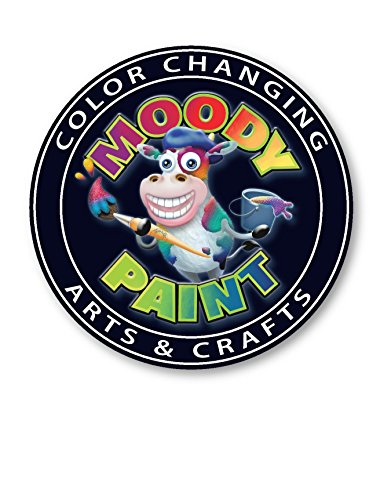 Color Changing Moody Paint 3 Grams (Dye Color Chart)