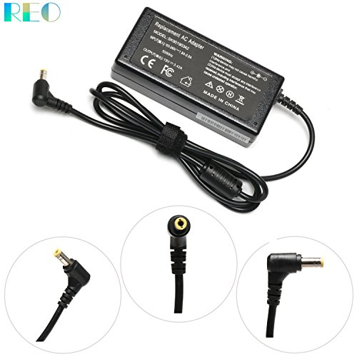 19V 65W 75W Ac/Dc Adapter Charger for Toshiba Satellite PA3917U-1ACA PA-1650-21 PA3467U-1ACA PA3396U-1ACA PA3714E-1AC3 PA3467E-1ACA PA3468U-1ACA PA3715U-1ACA PA5034U-1ACA Laptop Power Cord Supply