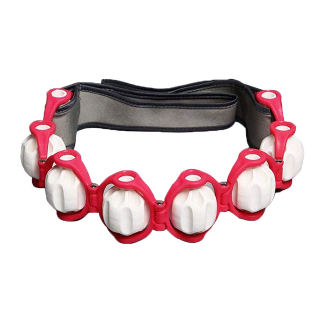Body massage roller rope back shoulder neck massager equipment tool