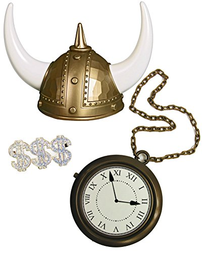 80s-rapper-flavor-flav-viking-helmet-clock-and-ring-costume-accessory-bundle