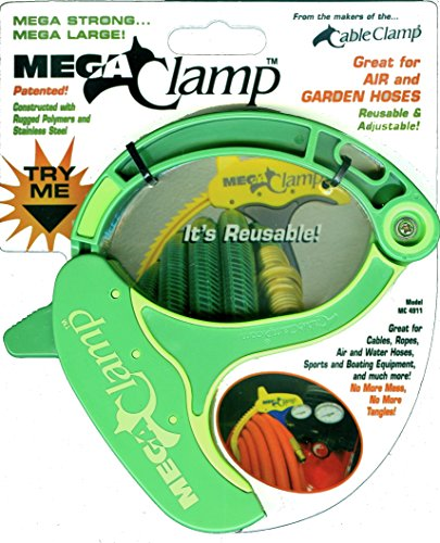 Cable Clamp Mega Clamp Cord, Rope & Hose Organizer - Green