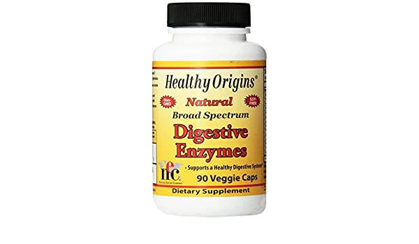 Las enzimas digestivas, de amplio espectro, 90 Caps Veggie ...