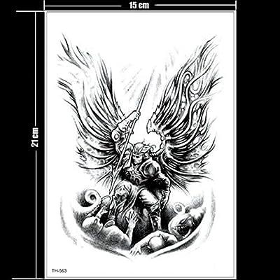 Los nuevos Tatuajes temporales Angel derrotan al Demonio Matan los ...