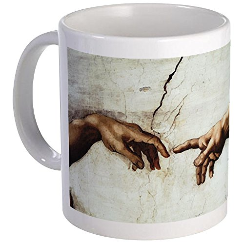 CafePress Creation Of Man Mug Unique Coffee Mug, Coffee ()