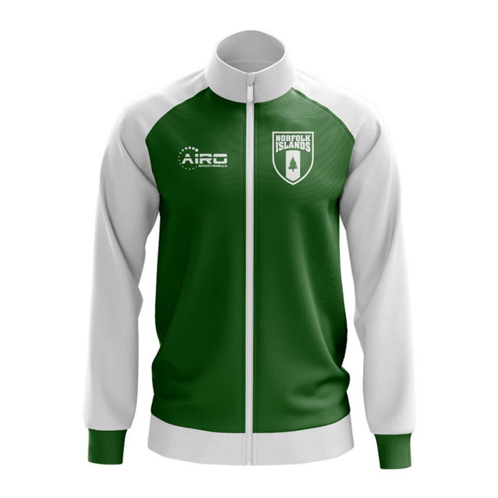 Airo Sportswear Norfolk Islands Concept Football Track Jacket (Grün)