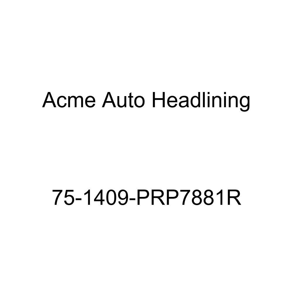5 Bow 1975 Chevrolet Monte Carlo 2 Door Hardtop Acme Auto Headlining 75-1409-PRP7881R Carmine Replacement Headliner
