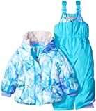 ZeroXposur Little Girls' Toddler Beatrice Snowsuit, Ice, 2T