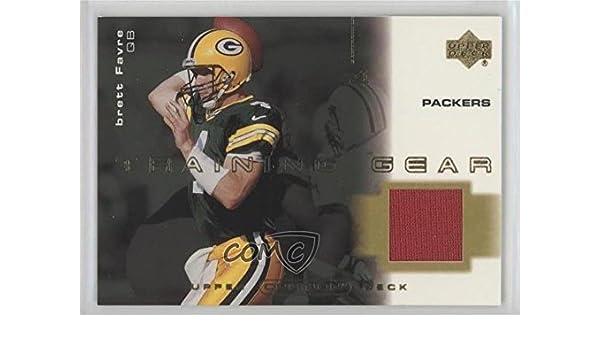 sale retailer d9ede c461c Amazon.com: Brett Favre (Football Card) 2001 Upper Deck ...