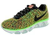 Nike Womens Air Max Tailwind 8 Vltg Green/Blck/Hypr Orng/Wht Running Shoe 6 Women US Review