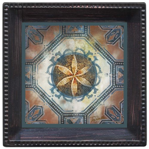 Thirstystone Ambiance Coaster Set, Moroccan Medallion, Multicolored