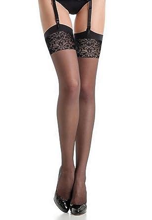 Fiore - Bas nylon noir à couture 20d pour Porte-Jarretelles  Amazon.fr   Vêtements et accessoires 5f21cd0950a